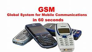 GSM Global System For Mobile Communications Radio