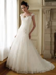 wedding gowns with sleeves lace wedding dresses with cap sleeves sang maestro