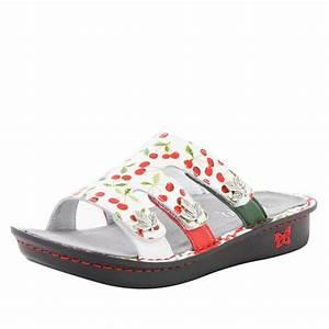 Venice Cherry Pick Sandal  U2013 Alegria Shoes
