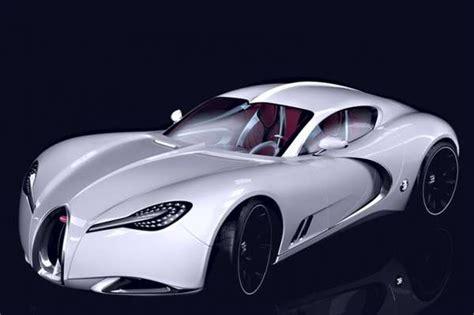 futuristic oval vehicles bugatti gangloff concept