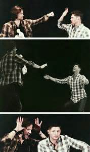 Supernatural Convention Jared and Jensen