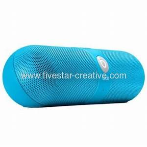 Beats Pill 2 0 Portable Stereo Speakers Neon Blue Limited