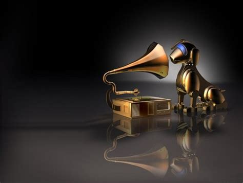dog  phonograph    cg abstract background