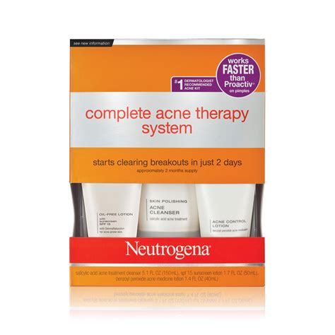 Amazon.com : Neutrogena Complete Acne Therapy System