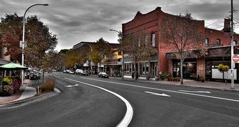 Downtown Pullman Washington Photograph by David Patterson