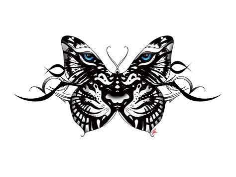 incredible tiger butterfly tattoos designs  meanings
