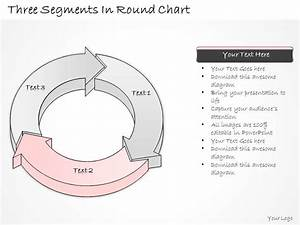 2502 Business Ppt Diagram Three Segments In Round Chart
