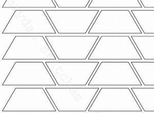 english paper piecing trapezium template by faerydaestitch With english paper piecing templates uk