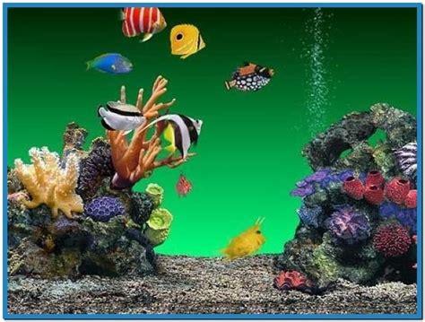 free 3d aquarium screensaver wallpaper
