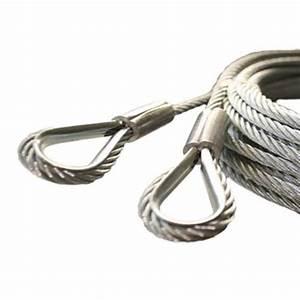 Cable de porte de garage sectionnelle pieces detachees for Cable pour porte de garage sectionnelle