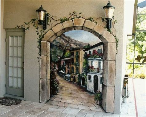Door Wall Murals Design Some