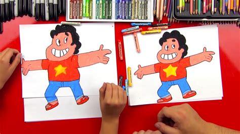 How To Draw Steven Universe - Art For Kids Hub