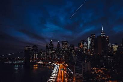 4k Night Buildings Newyork Wallpapers York Backgrounds