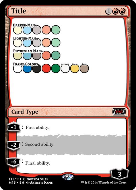 mtg proxy template mtg card frame template pertamini co