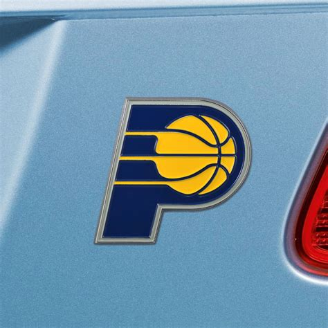 indiana pacers colors fanmats nba indiana pacers emblem color
