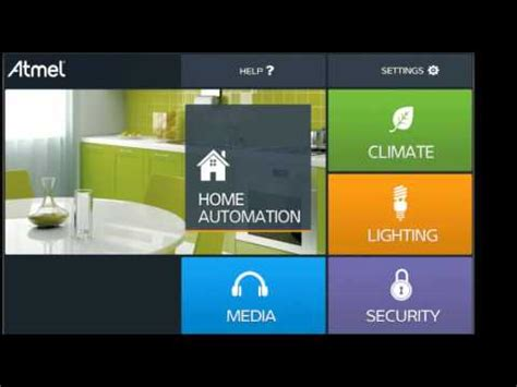atmel home automation reference design  samad series