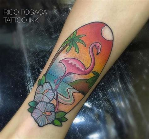 flawless flamingo tattoos tattooblend