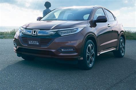 Japanesespec Vezel Likely Previews Refreshed 2019 Honda