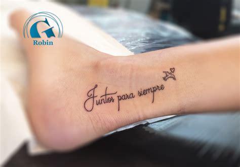 tatouage de couple phrase