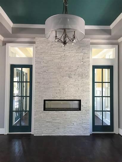 Stone Artic Fireplace Ledgestone Ledger Natural Architectural