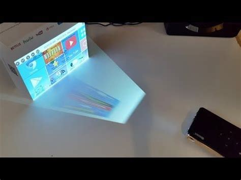 smartphone projector  magnifying glass