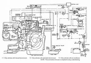 Mazda B2200 Carburetor Vacuum Diagram