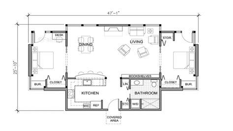 home plans single small one house floor plans really small one