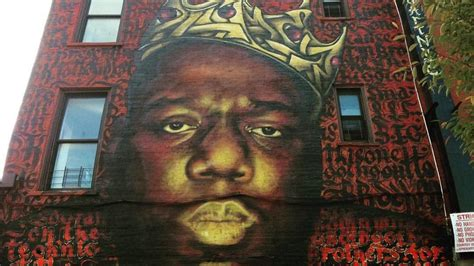 petition landmarkbig save  biggie mural  making