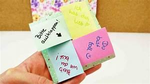Sachen Selber Gestalten : diy brief zum ausklappen kreativen brief selber machen liebesbrief geburtstags ~ Orissabook.com Haus und Dekorationen