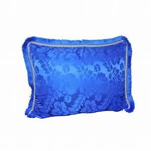 Housse Coussin Bleu : housse de coussin bleu majorelle sabannes r ception ~ Teatrodelosmanantiales.com Idées de Décoration