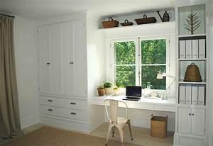 Schrankwand Mit Integriertem Schreibtisch : schrankwand mit integriertem schreibtisch home office ~ Watch28wear.com Haus und Dekorationen
