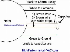 How To Connect Capacitor For Motor