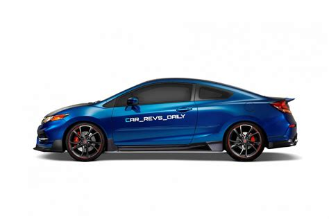 2016 Usa Honda Civic Type R Renderings