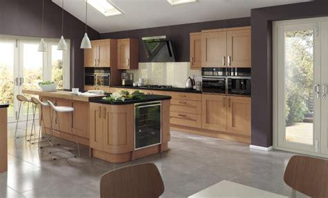modern oak kitchen cabinets contemporary oak kitchen stori 7760