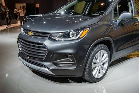 This Is The Refreshed 2017 Chevrolet Trax  Gm Authority