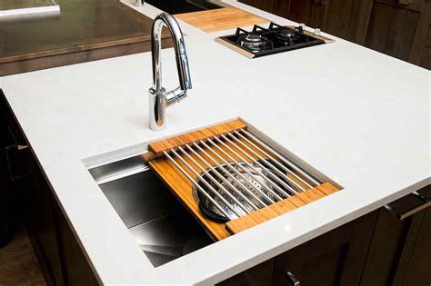 small kitchen prep sinks ideal workstation 2 iws 2 5494