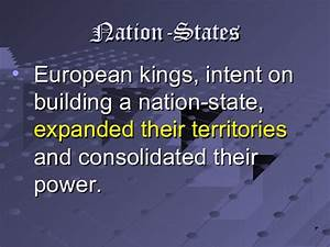 Rise of Nation States in Medieval Europe