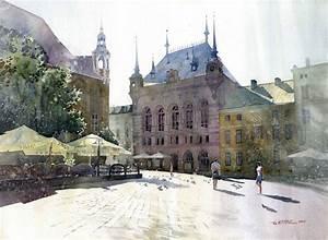 Splendid Watercolor Paintings by Grzegorz Wrobel   Wave Avenue
