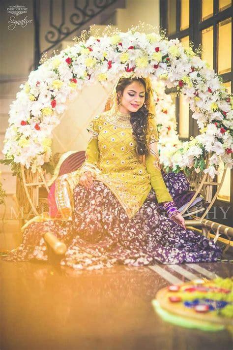 pakistani mehndi dress bridal mehndi dresses pakistani