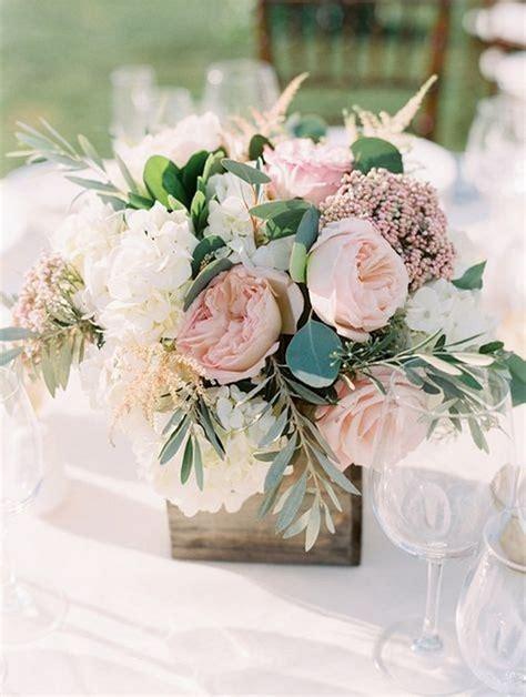 chic shades  pink summer wedding centerpiece ideas