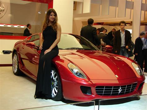 sport cars with girls sports cars concept farrari and beautifull girls