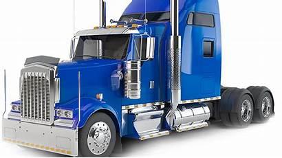 Truck Semi Clipart Transparent Trailer Trucks Background