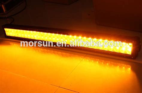 3000k lighting bar led fog light 120w 20 inch yellow
