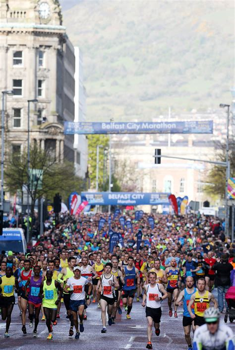 belfast city marathon belfast ireland runs