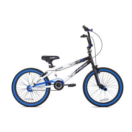 Bike At Walmart Kent 20 Quot Ambush Boys Bmx Bike Blue Walmart Com