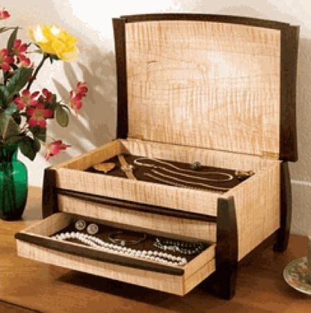 gem   jewelry box ii woodworking plan