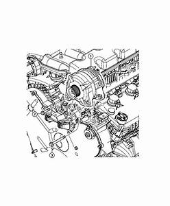 Dodge Journey Alternator  Engine   Bae