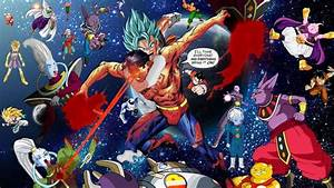 Goku, Gohan and Vegeta vs Superman, Martian Manhunter and ...
