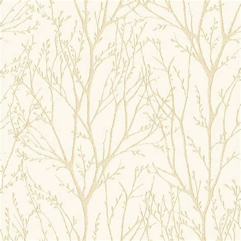 fine decor delamere tree wallpaper cream fd purple