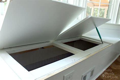 window seat storage bench building a window seat with storage in a bay window
